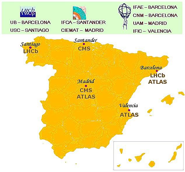 Resultado de imagen de España entra en el CERN